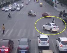 潍坊司机酒驾无牌车连撞学生交警逃逸被刑拘