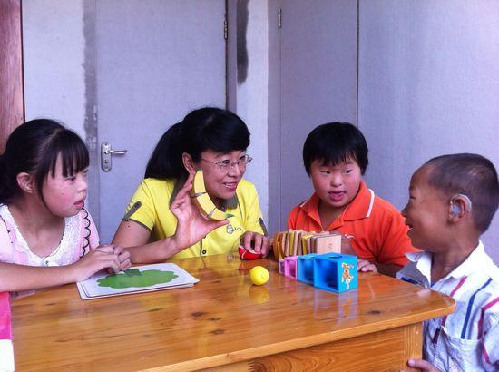 20年助残疾儿童快乐成长