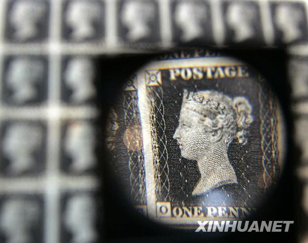 历史上的5月6日:世界上第一枚邮票在英国诞生
