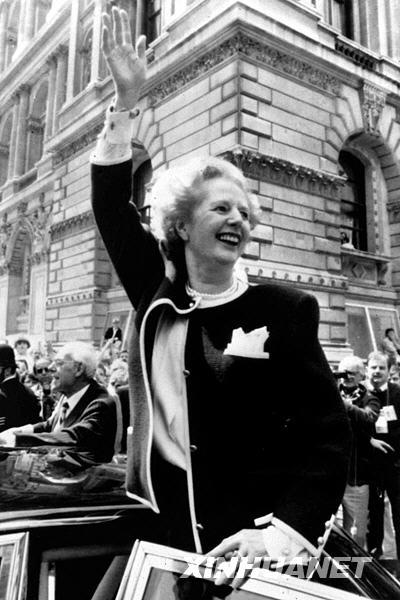 历史上的5月3日:撒切尔夫人出任首相