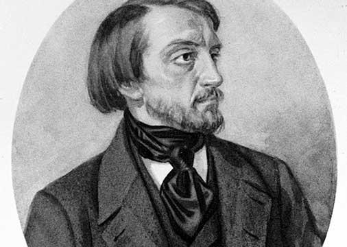 历史上的6月7日:别林斯基逝世