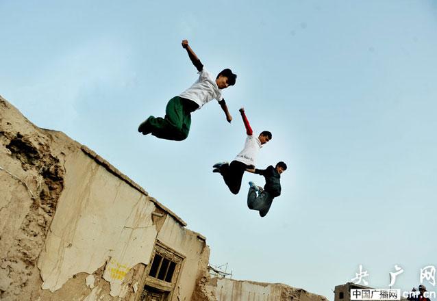 喀什上空酷跑青春