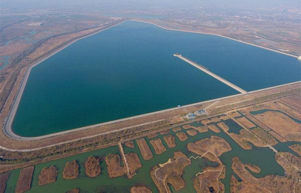 """航拍济南""""城市瑰宝""""济西湿地 公园即将开放"""