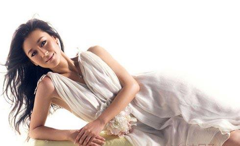 王菲张柏芝范冰冰 露出额头还是美人儿的女星