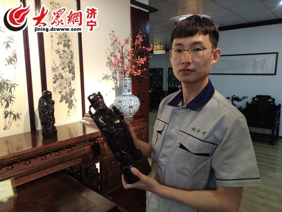 退伍军人刘志恒 退伍不褪色 创业展风采