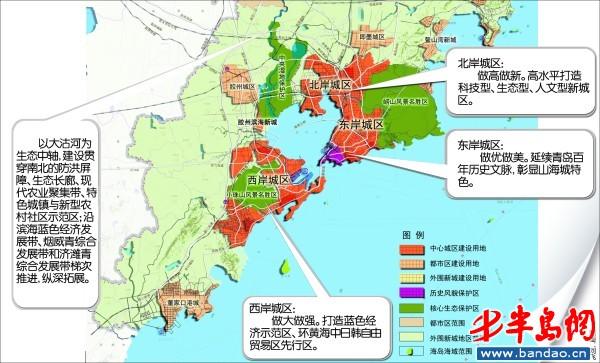 胶州大沽河风景区规划图
