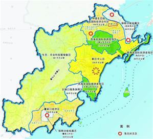 青岛西海岸经济新区规划范围为青岛经济技术开发区,青岛前湾保税