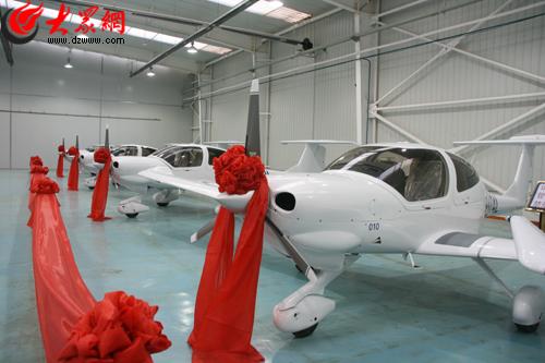已经形成了从原材料进厂到飞机试飞交付的整机全过程