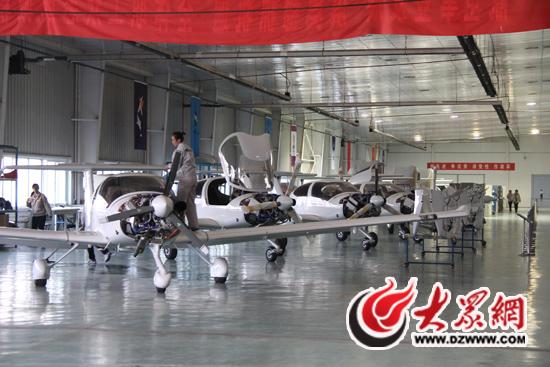 平方米的飞机制造厂房