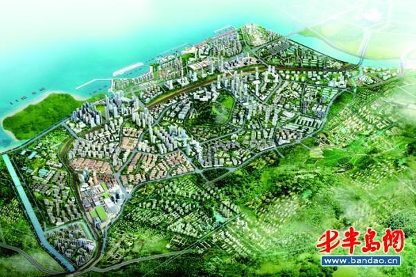 滨海新区打造创意商务区 成胶州湾东岸重要节点
