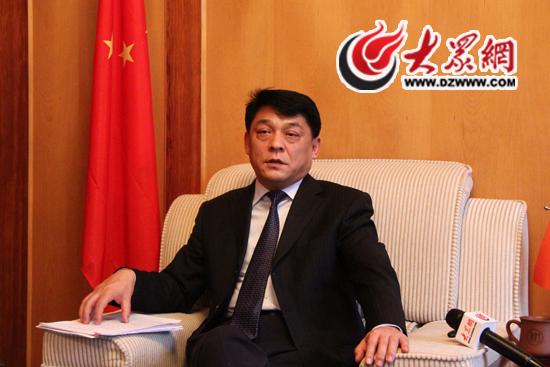 大众网对济南市天桥区委副书记