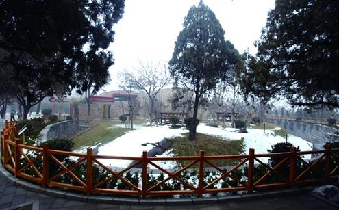 而随着大熊猫的到来,济南动物园新建的大熊猫馆也正式启用.