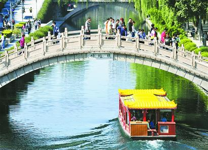 """济南趵突泉大明湖正式挂牌""""天下第一泉""""风景区"""