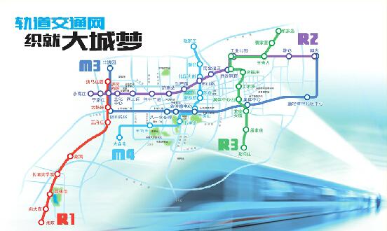 金华市地铁规划图