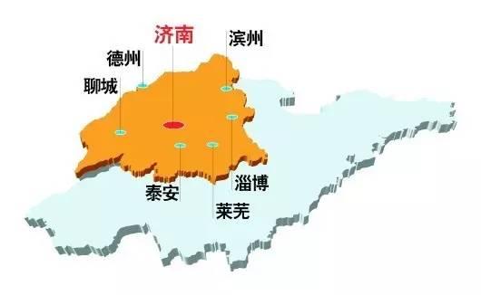 山东济南德州禹城地图