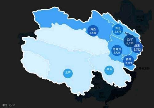 全国房价地图出炉:济南青岛均价每平12000元左右
