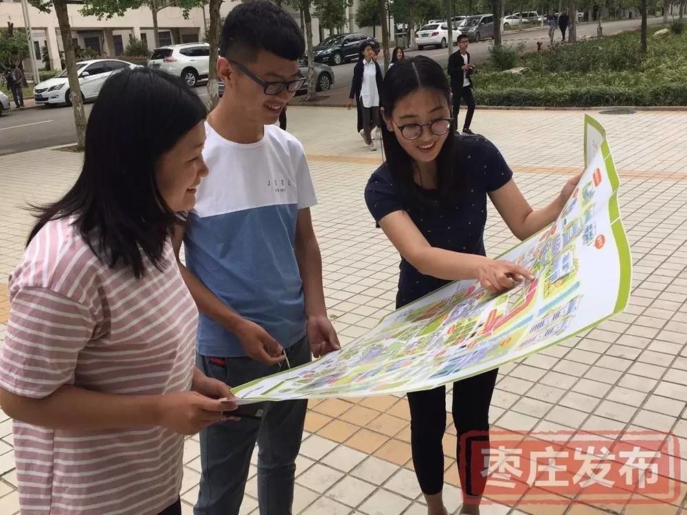 据吴旻老师介绍,枣庄学院手绘地图的前期工作基本完成,后期还会根据