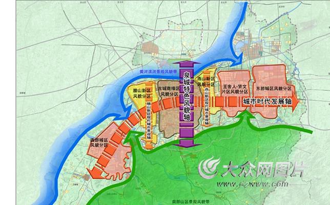 城市风貌规划图