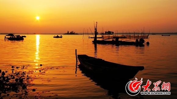 单县浮龙湖生态旅游景区风景