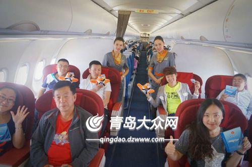 青岛航空新开烟台=呼和浩特=海拉尔往返航线