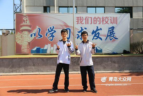 青岛十六中:徐骁,王天泽