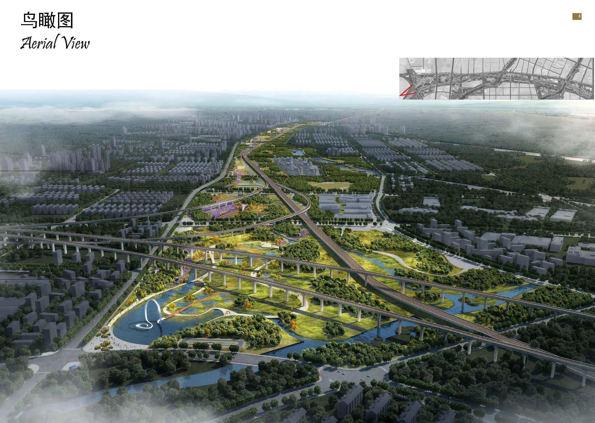 雨水花园-日照市民公园开工建设 预计2018年6月完工图片