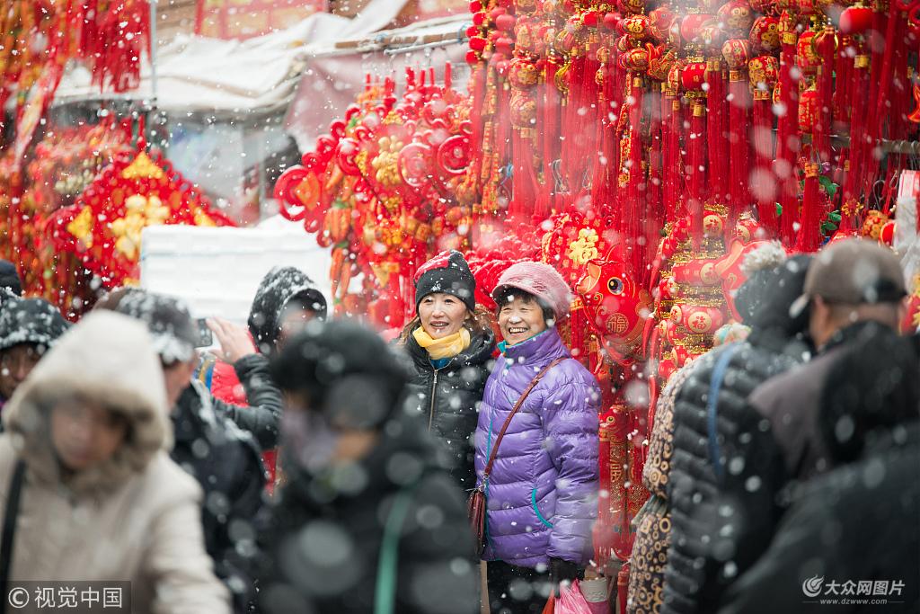 山东青岛李村大集始于1892年,距今约有120多年的历史,每逢农历二