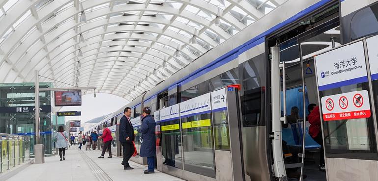 青岛地铁11号线开通试运营