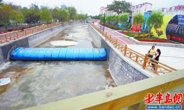 观河 市区3条污染河流变清澈
