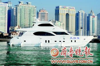 游艇到位后,将开通烟台至崆峒岛,养马岛,长岛,蓬莱,市区滨海沿线,长岛