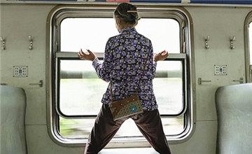 这是一列京广线上的免费列车