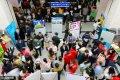 """2017年2月7日,山东省日照市2017年""""贺新春""""大型招聘会在日照人力资源市场火爆举行。"""
