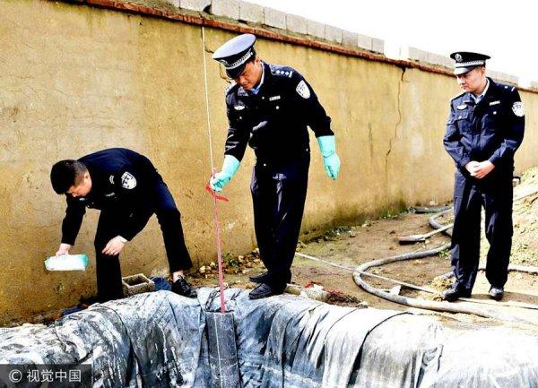 郯城警方捣毁一非法买卖易制毒窝点 缴获涉嫌制毒原料27吨