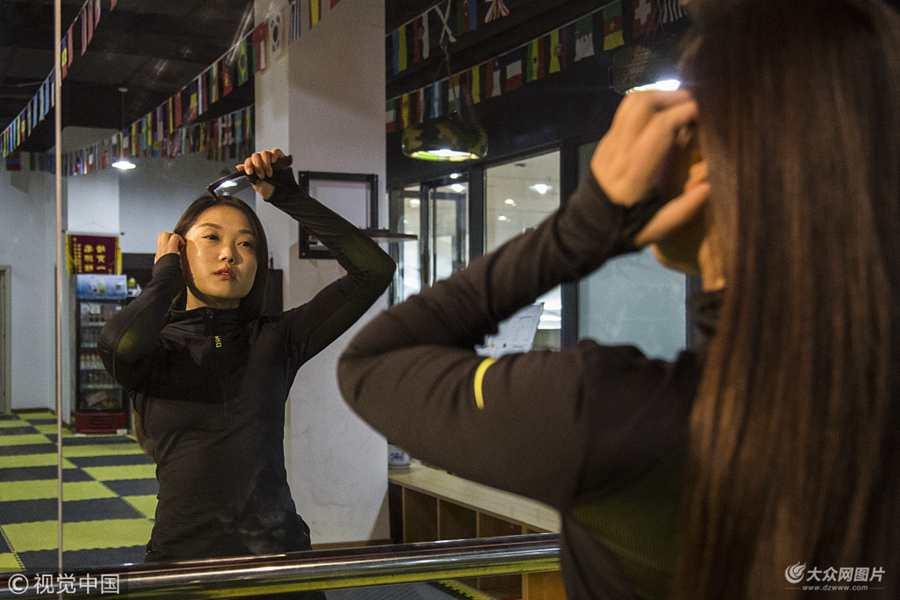 合肥女神拳击教练 曾是国家队运动员获世锦赛亚军