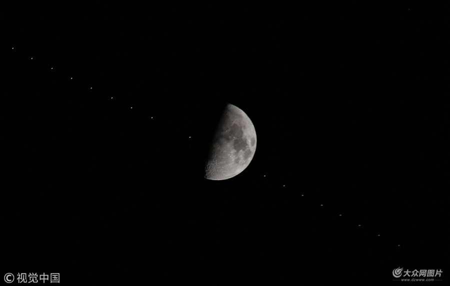 国际空间站凌月