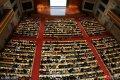 2018年1月10日,济南,在山东会堂内,2018年新一轮考研族拉开序幕,加入5000人的考研队伍中。