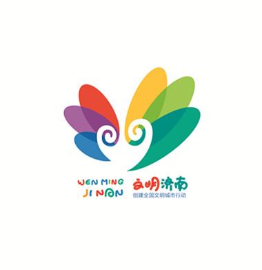济南创建全国文明城市形象标识