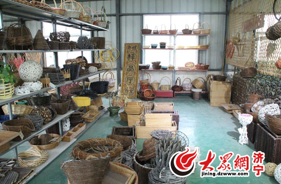 杞柳编织品的样式种类繁多