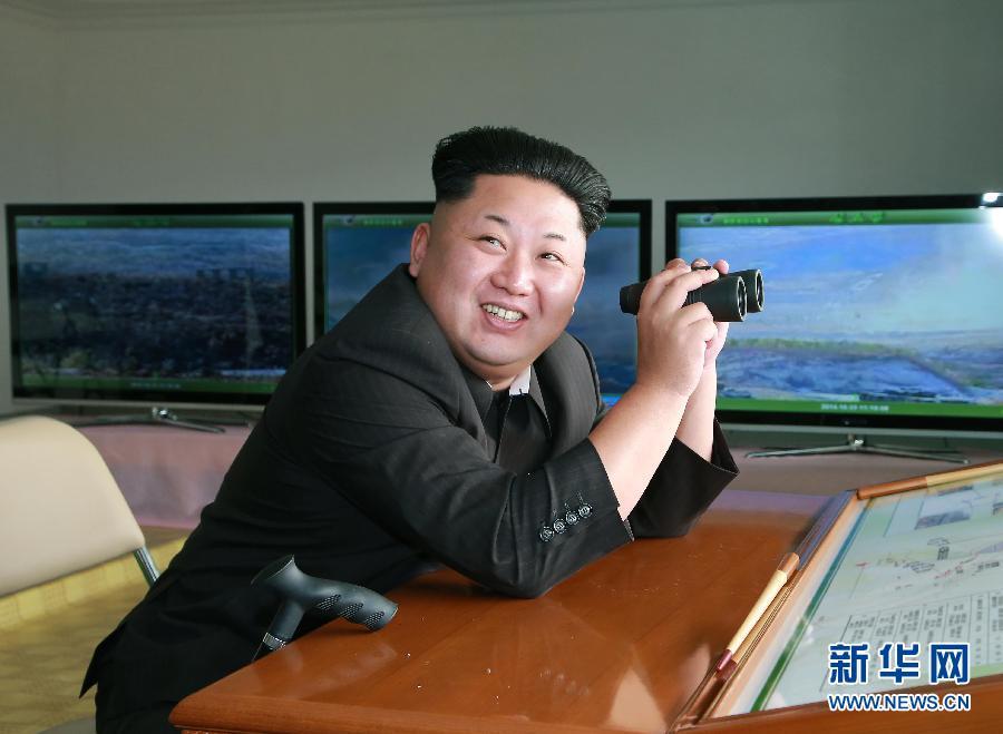 金正恩指导朝鲜人民军进行对抗训练