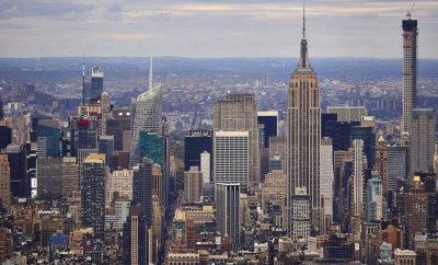 纽约新世贸中心基本竣工 3日迎来首个入驻公司