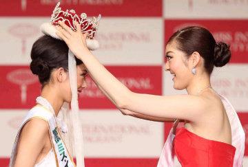 国际小姐大赛日本代表出炉 18岁冠军外貌受质疑