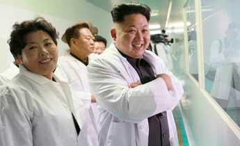 金正恩视察精诚制药综合厂 鼓励药厂研发高效药