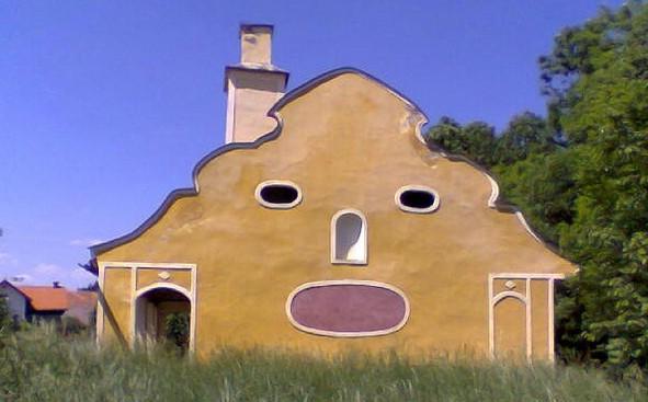 丰富表情的房子