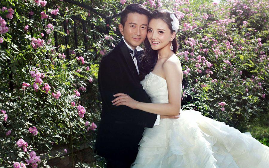 明星婚纱 刘璇张雨绮孙茜中式西式大比拼