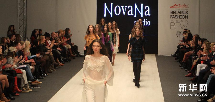 实拍乌克兰时装惊艳亮相白俄罗斯