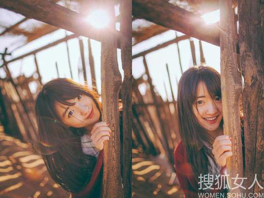 北京第二外普通话学院校花冯依然,清纯双眸,甜美笑容,蜜糖暖心女孩儿。是众多宅男的女神,被赞清纯直逼奶茶妹妹。