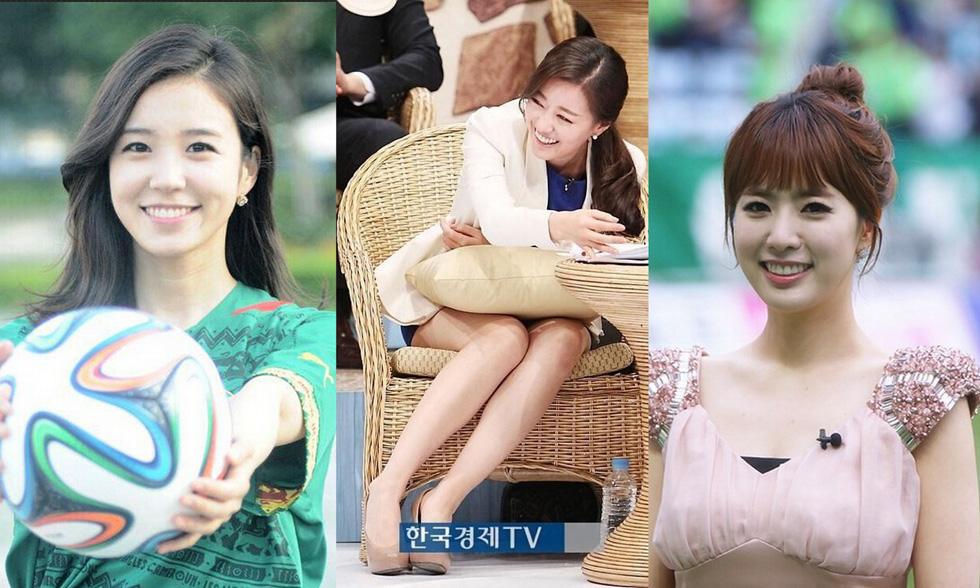SBS的张艺媛、MBC的李在恩以及KBS的郑智媛。