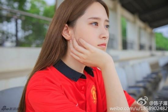 北京语言大学美女网络爆红 长相清纯甜美
