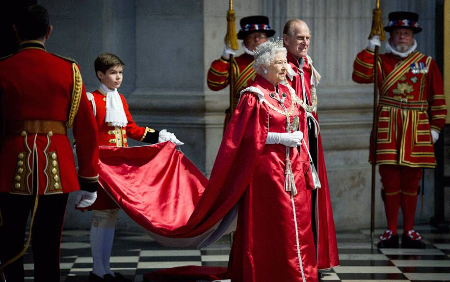 英国女王与菲利普亲王的世纪情缘