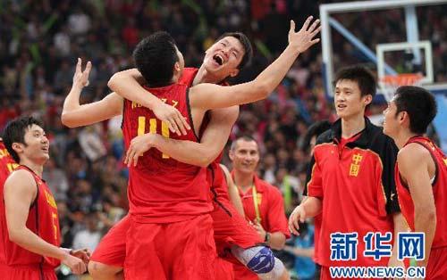 亚运男篮:中国夺冠